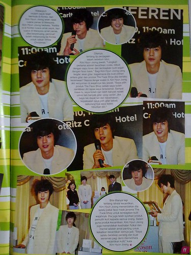 Kim Hyun Joong Epop Malaysian Magazine January 2011 Issue