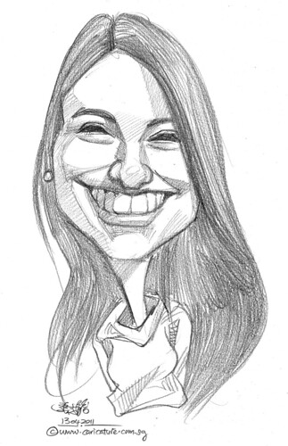 caricature in pencil - 55
