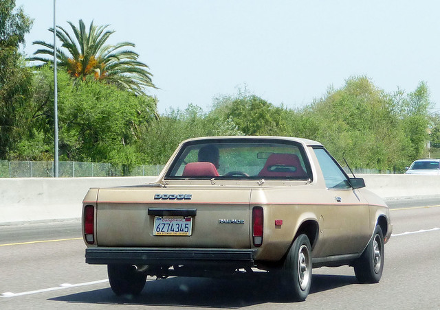 california car freeway dodge rampage
