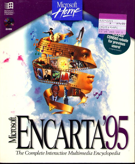Microsoft ENCARTA '95 CD-ROM for Windows