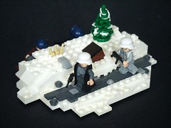 Winter WWII (BrickinNick) Tags: world winter 2 germany war lego wwii german allies brickarms foitsop