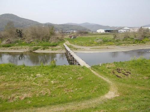 流れ橋 #2