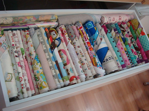 Kawaii Fabric Stash Drawer