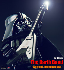 The Darth band's 1st album (storm TK431) Tags: starwars lego guitar album band darth darthvader deathstar lifeonthedeathstar