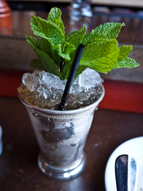 Mint Julep at Rendezvous