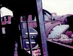 Woodham's scrapyard 1976/77 (Spearmint100) Tags: abandoned barry scrapyard 1977 locomotives uksteam woodhams britishsteamlocomotives