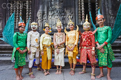 Cambodia, Siem Reap, Angkor Wat - Dancing Group (manhhai) Tags: travel vacation holiday tourism temple asia cambodia southeastasia vishnu angkorwat worldheritagesite monastery siemreap angkor wat deity religiouscomplex hindudeity siemreapprovince multiheadedhybridbeing hindumaledeity multiarmedhuman multiarmedhybridbeing multiheadedhuman