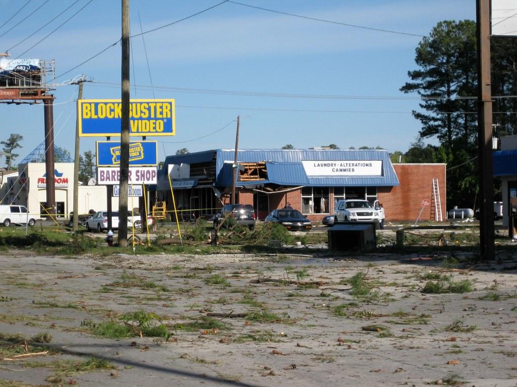 tornado aftermath.