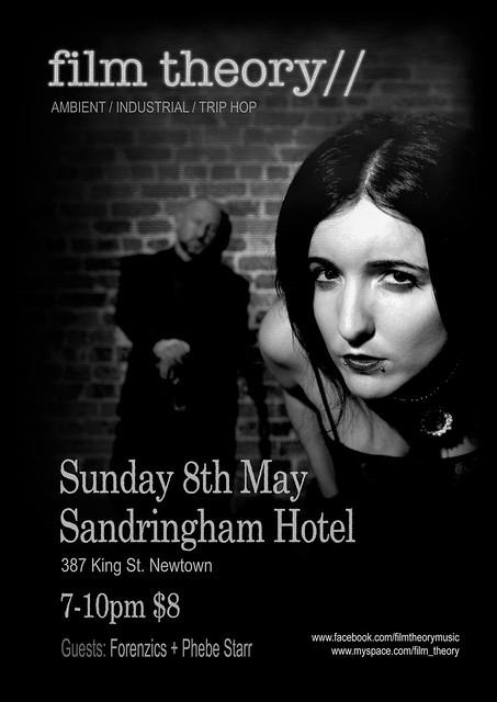 Gig Poster, The Sando, Sunday 8th May