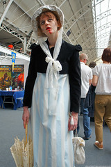 Kapow! Comic Con : Cosplay - Victorian Zombie from Tony Lee's Pride and Prejudice and Zombies by Craig Grobler
