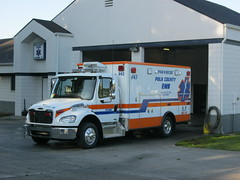 Polk County EMS Medic Station 31 - 32 (West Florida Fire Photography) Tags: city rescue ambulance fl sterling ferrara medic paramedic polk freightliner pcems pcfr polkcountyems