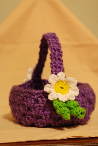 Finished Easter baskets