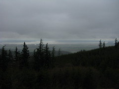 Puget Sound from route to Devil Mtn