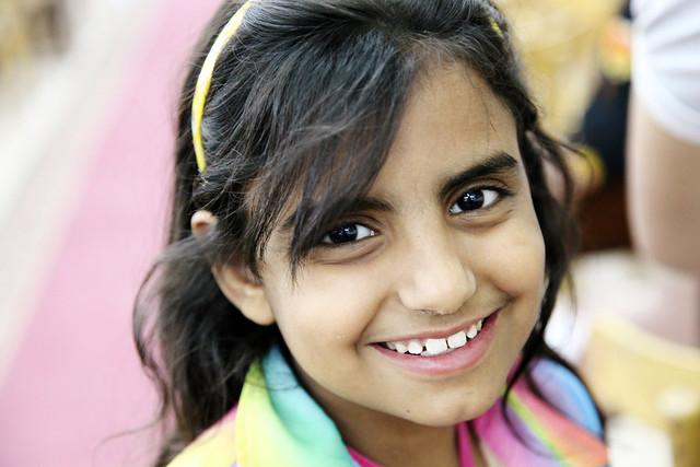 エジプト、アスワンの少女