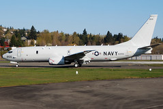 US Navy N391DS (167956) (Drewski2112) Tags: us airport united navy states boeing renton poseidon usn municipal buno firstflight p8 rnt krnt p8a 167956 n391ds bp8a