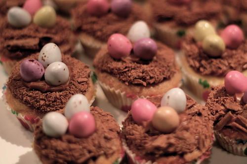 Thursday: easter cupcakes for morning tea
