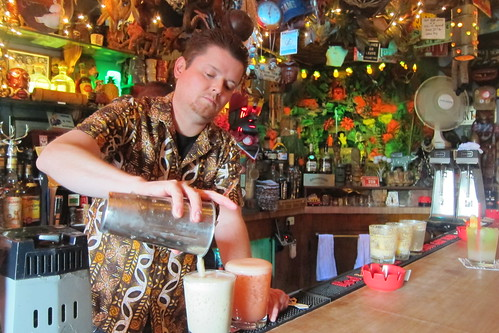 Tiki Ti: Mike Buhen Jr. Pours a Drink