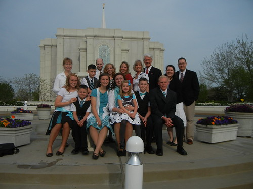 April 14 2011 Shawn Botti sealing to Rob & Danielle Fowers St. Louis Temple
