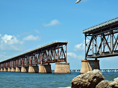 Old Bridge: Bahia Honda State Park, Florida Keys