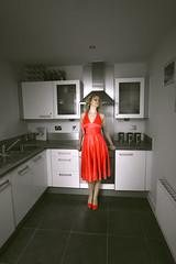 selective (gagilas) Tags: explore reddress akvile selectivecoloring