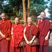 7: Jamyang Choling nuns with Geshe Kelsang Wangmo