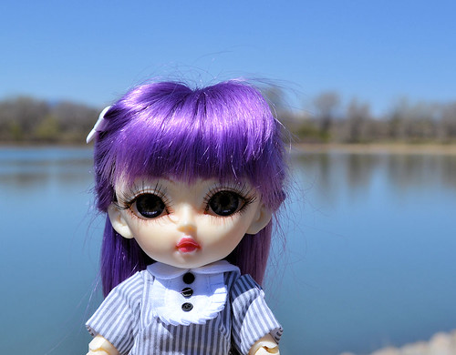 Lily at the Lake