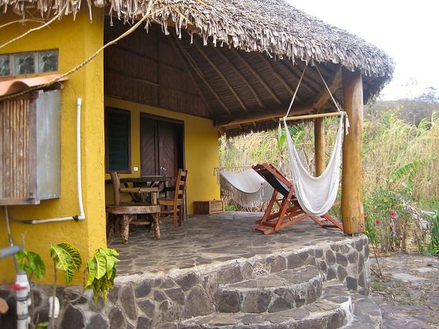 hammock in a eco lodge in nicaragua