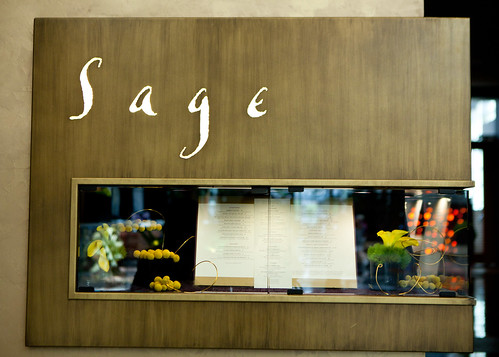 Sage's display window