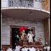 Salida del Misterio de Ntro. Padre Jesús de la Pasión Despojado por la Puerta del Salvador