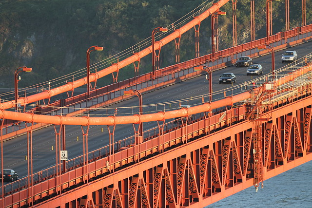 Golden Gate Bridge with 500mm