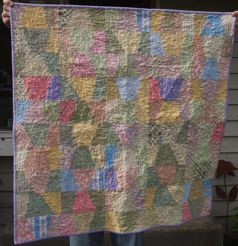 Baby Stack & Slash Quilt
