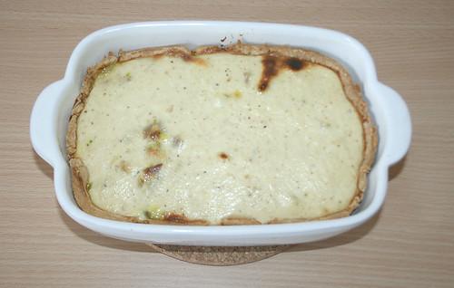 24 - Lauch-Quiche - Fertig gebacken
