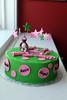 IMG_4826 (dougschneiderphoto) Tags: birthday pink green cake stars monkey names fondant buttercream gumpaste sarabakescakes