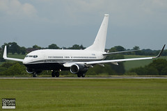 N721BA - 37111 - Private - Boeing 737-7JR BBJ - Luton - 100607 - Steven Gray - IMG_3380