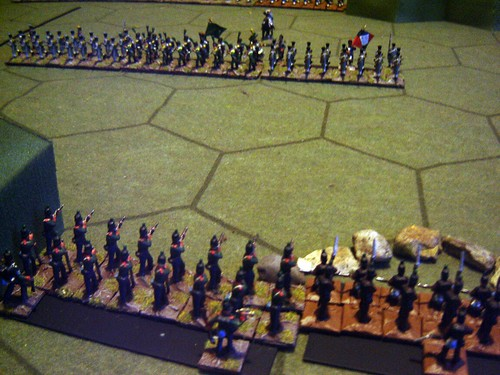 The Portuguese hold the redoubts