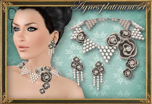 AGNES platinum set