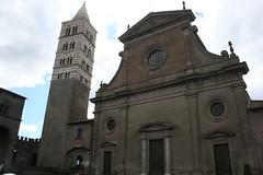 Cattedrale di San Lorenzo (Matteo Bimonte) Tags: chiesa campanile sanlorenzo viterbo lazio cattedrale facciata