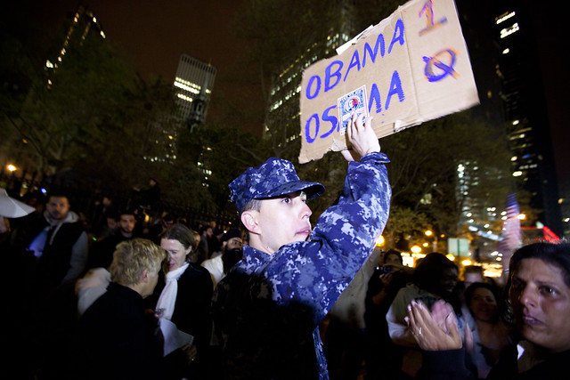 Osama bin Laden is dead; New York celebrates at Ground Zero