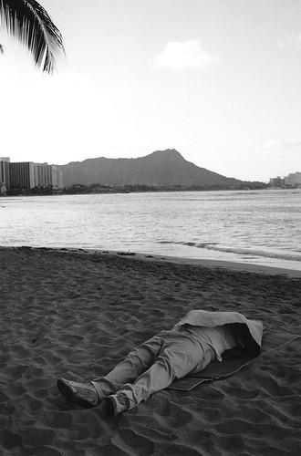 ハワイ オアフ島 Waikiki Beach