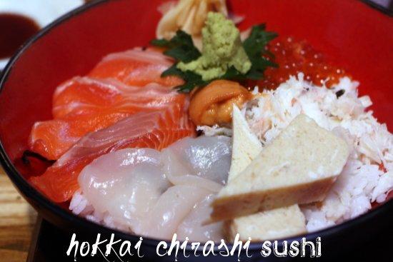 hokkai chirashi sushi