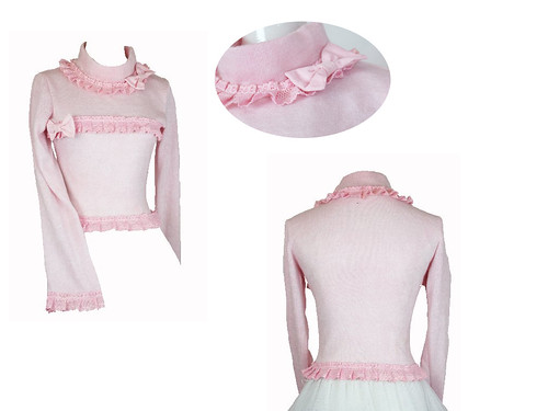 the dream of lolita pink cutsew