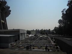 Primer día de montaje - Estadio Azteca 03