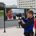 El director Tom Fernández realiza los anuncios de campaña de Javier Fernández