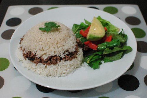 Recipe: Arroz tapado – lateral eating