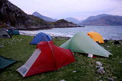 (gajtalbot) Tags: camping outdoors scotland tents highlands camps knoydart wildcamping lochnevis