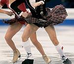 John & Sinead Kerr2 (kilt4142) Tags: kilt scottish skaters scot skate upskirt swinging kilts scots tartan kilted upkilt
