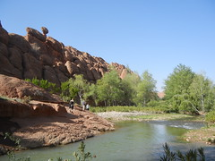 Valle du Dads 3 (luco*) Tags: river rivire morocco valley maroc peuplier valle dades dads