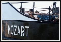 Wolfgang Amadeus seems to be a boat!! (PTR) Tags: canon word boat fdsflickrtoys antwerp antwerpen ptr flickrmeetup photowalkantwerpen2011