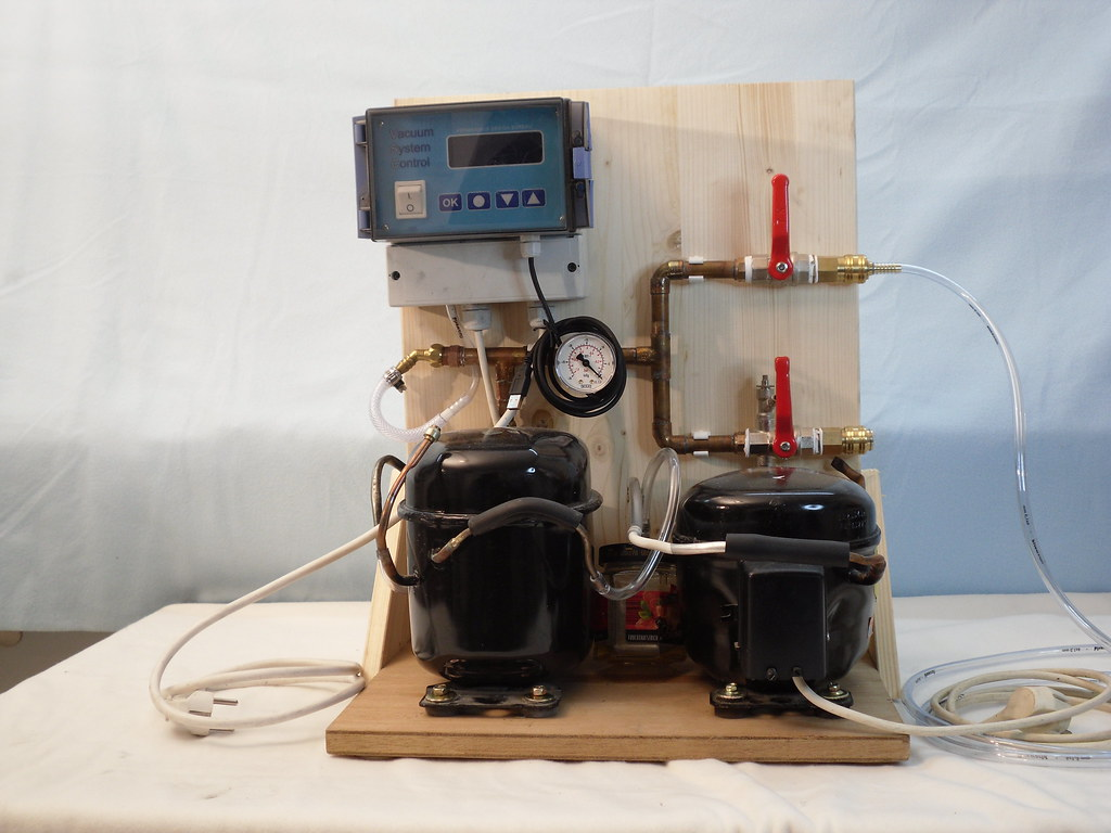 New vacuum pump