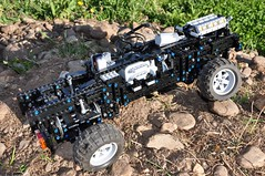 Trial Truck: DAC 16.550-10 (Sergiu94) Tags: auto road truck automobile power lego offroad 4x4 roman engine 4wd off technic dac portal functions rc trial motorized v10 axle axles 16550 offroadvehicles trialtruck sergiu94